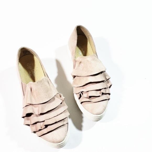 Seychelles Quake Blush Slip On Sneaker